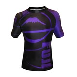 Fuji Freestyle IBJJF Short Sleeve Rash Guard Purple
