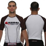 Koral Competition Rashie Short Sleeve - Brown