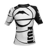 Fuji Freestyle IBJJF Short Sleeve Rash Guard White