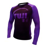 Fuji IBJJF Long Sleeve Rash Guard Purple