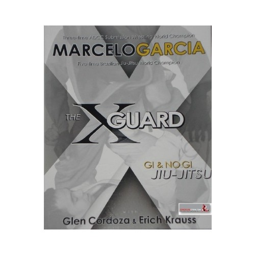 The X Guard book by Marcelo Garcia