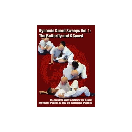 Dynamic Guard Sweeps Vol.1 DVD - The Butterfly & X-Guard