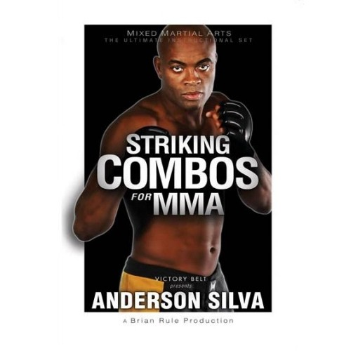 Striking Combos for MMA DVD by Anderson Silva